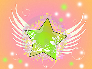 Gentle Star Royalty Free Stock Photos - Image: 9705298
