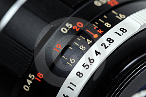 кольцо апертуры близкое вверх Стоковое фото RF - изображение: 9709865