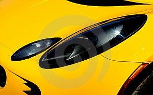 The Headlights Stock Photos - Image: 9710293
