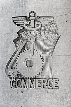 Commerce Emblem Stock Photography - Image: 9710512