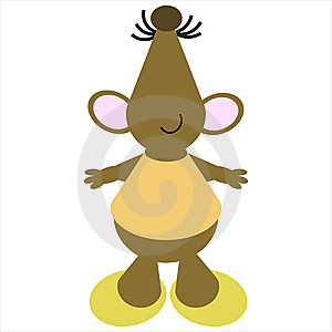 Cartoon Of A Dancing Mouse Stock Photos - Image: 9710813
