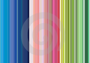 Vertical multicolored stripes background Stock Photos