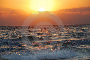 Sunset in Florida Stock Photos