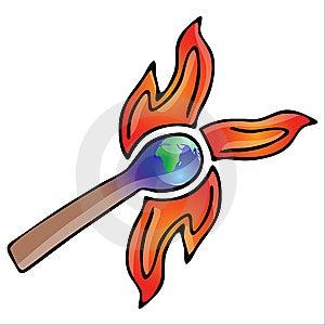 Global Warming Stock Photography - Image: 9712832