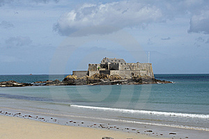 Fort In Saint Malo Stock Photo - Image: 9713710