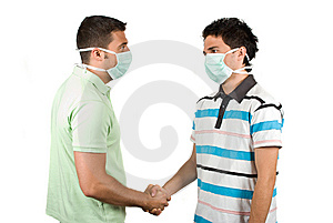 Safety Handshake Stock Images - Image: 9713984