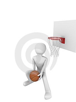Basketball Slamdunk 3 Stock Images - Image: 9715734