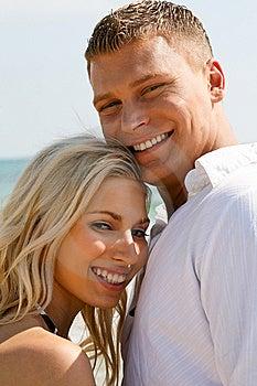 Juvenile Couple Full Of Joy Stock Image - Image: 9716771