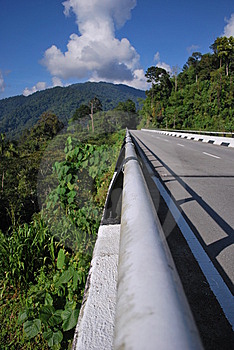 Road Over A Hill Royalty Free Stock Photos - Image: 9724038