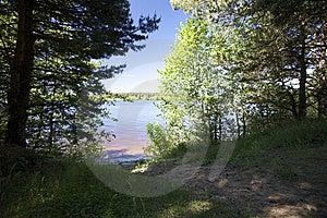 Riverside Stock Photo - Image: 9728030