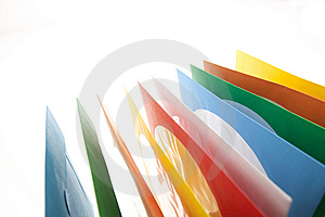 Disc Sleeves Royalty Free Stock Images - Image: 9728689