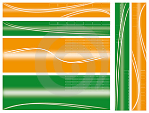 Abstract Web Banner Stock Images - Image: 9728884
