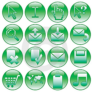 Button Designs Stock Image - Image: 9730091