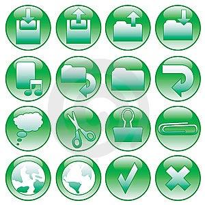 Diseños Del Botón Fotos de archivo libres de regalías - Imagen: 9730108
