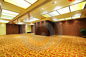 Hall Stock Photo - Image: 9733900
