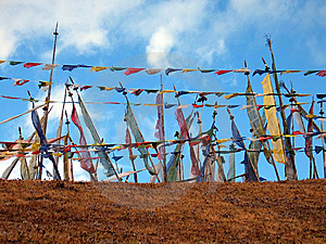 Prayer Flags Royalty Free Stock Photo - Image: 9734825