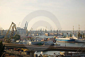 Ship-repair Yard Royalty Free Stock Image - Image: 9737376