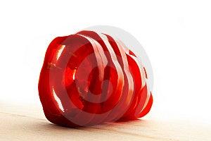 Sliced Pepper Stock Images - Image: 9737934