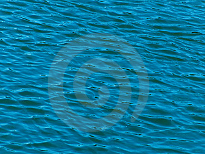 Waves On Water Royalty Free Stock Image - Image: 9738006