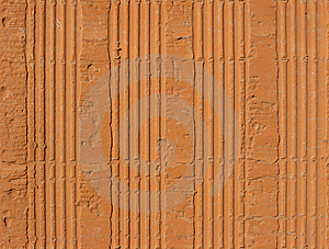 Hollow Clay Brick Pattern Stock Image - Image: 9738311