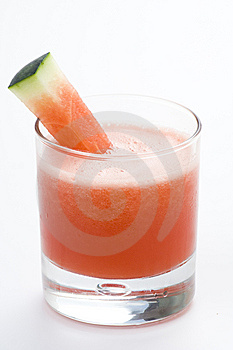 Refreshing Cold Watermelon Juice Stock Image - Image: 9740011