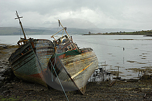 Ship Wrecks Royalty Free Stock Photos - Image: 9745098