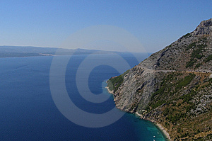 Adriatic Coastline Stock Image - Image: 9746711