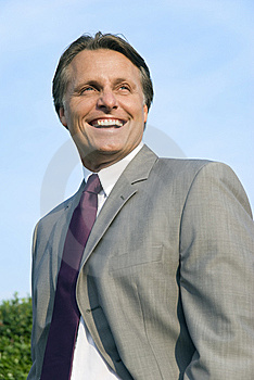 Happy Smiling Businessman. Stock Images - Image: 9747264