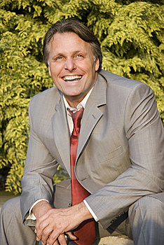 Happy Smiling Businessman. Stock Photos - Image: 9747423