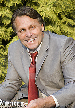 Happy Smiling Businessman. Royalty Free Stock Photography - Image: 9747557