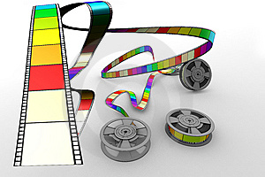 Film Reels Stock Photography - Image: 9747912