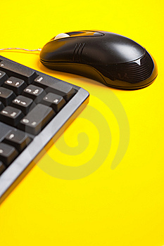 Mouse And Keyboard Royalty Free Stock Image - Image: 9750406