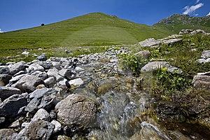 Burn Creek. Stock Image - Image: 9755021