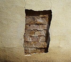 Cracked Wall Stock Photo - Image: 9757010