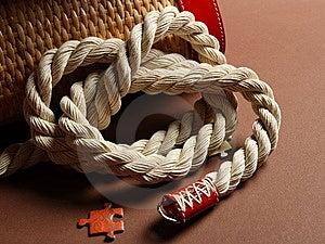 Handle Bag Knot Royalty Free Stock Photos - Image: 9757798