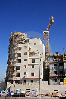 New Building Construction Royalty Free Stock Photo - Image: 9757915