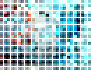 Abstract Square Tiled Mosaic Background Royalty Free Stock Images - Image: 9761159