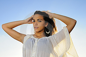 Fresh Teen Beauty Stock Photo - Image: 9763230