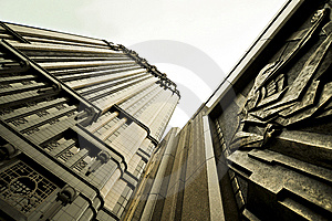 Sculptured Skyscraper Royalty Free Stock Photo - Image: 9764125