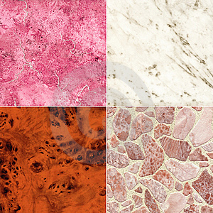 Set Of Marble Slab Surface Texture Stock Photos - Image: 9764663