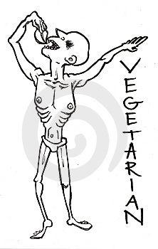 Vegetarian Royalty Free Stock Photography - Image: 9764697