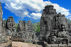 Bayon Temple Series 07 Stock Photos - Image: 9766643