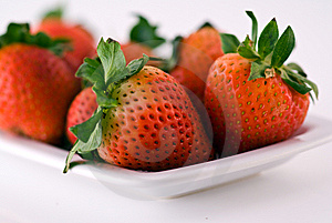 Strawberries Close Up Royalty Free Stock Images - Image: 9767289