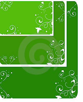 Set Of Three Templates Royalty Free Stock Photos - Image: 9767768