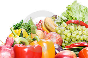 Fruits & Vegetables Stock Photos - Image: 9767803