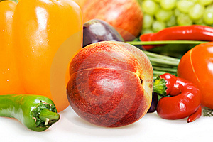 Fruits & Vegetables Royalty Free Stock Photography - Image: 9767827