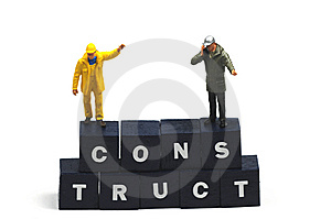 Construct Royalty Free Stock Image - Image: 9768976