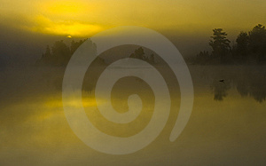 Dawn Obscured By Cloud Royalty Free Stock Photo - Image: 9769005