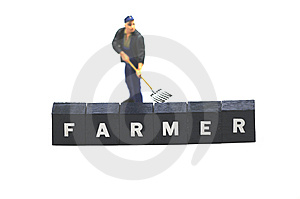 Farmer Royalty Free Stock Photos - Image: 9769038