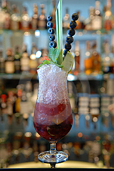 Alcoholic Cocktail Stock Image - Image: 9771521